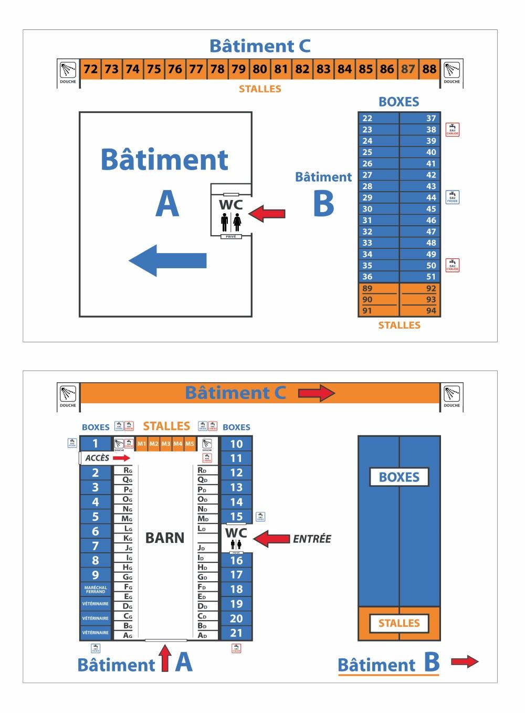 plan boxes et stalles (Personnalisé)